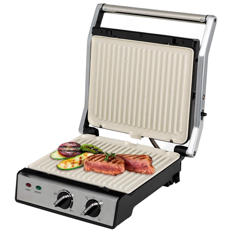 IKOHS Stone Grill Pro - Sandwichera Grill, 2000 W, hasta 4 ...
