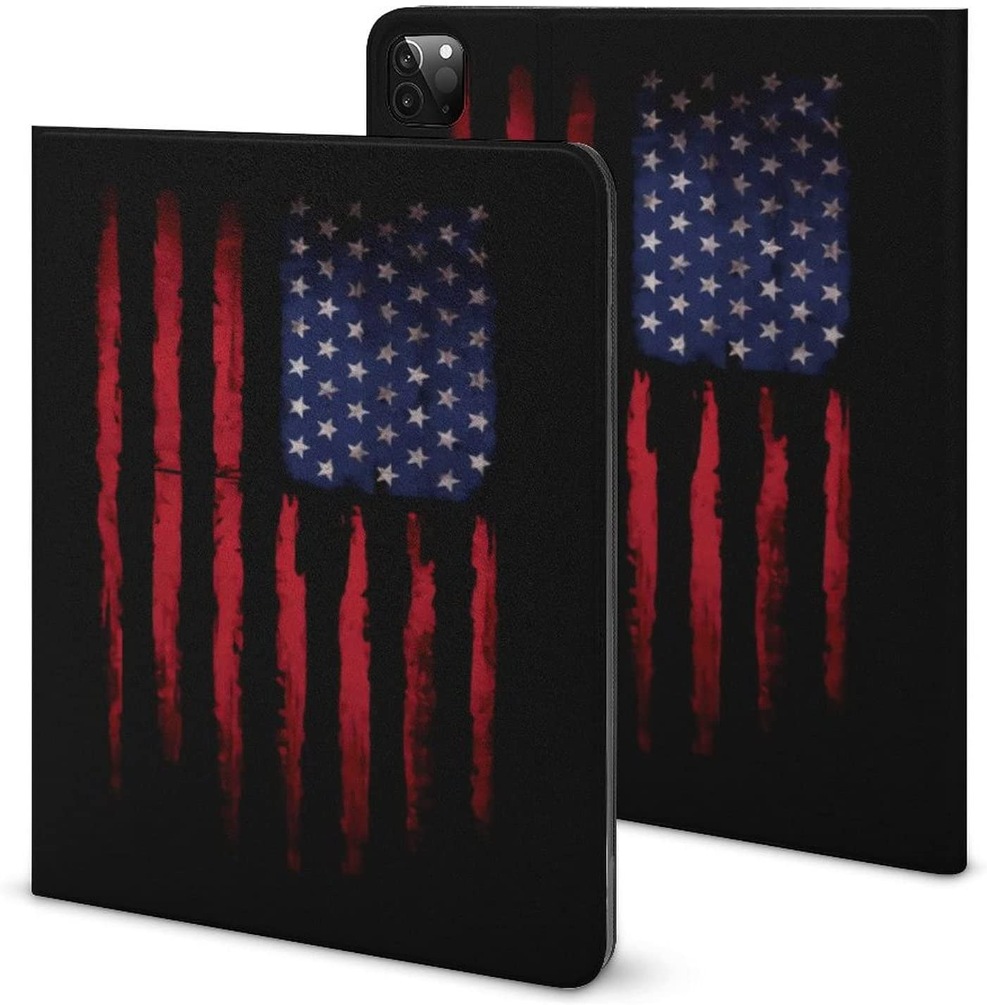 Vintage American Flag Milwaukee Mall Ipad Case with 67% OFF of fixed price Book Style Protect Slot Pen