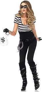 Leg Avenue Womens Sexy Bank Robbin' Bandit Costume
