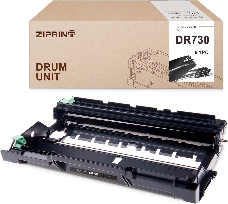 ZIPRINT Compatible Drum Unit Replacement for Brother DR730 DR-730 use with HL-L2350DW HL-L2370DW HL-L2390DW HL-L2395DW DCP-L2550DW MFC-L2710DW MFC-L2750DW Printer (1 Drum Unit, Black)