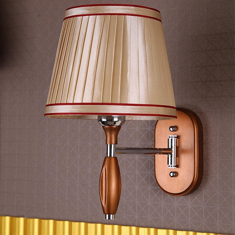 &Wohnzimmer Flur Schlafzimmer Wandleuchte Wandlampe E27-LED Nachttischlampe einfache Schlafzimmer Wandleuchte Flur Wandleuchte&Kabellose Wandleuchte