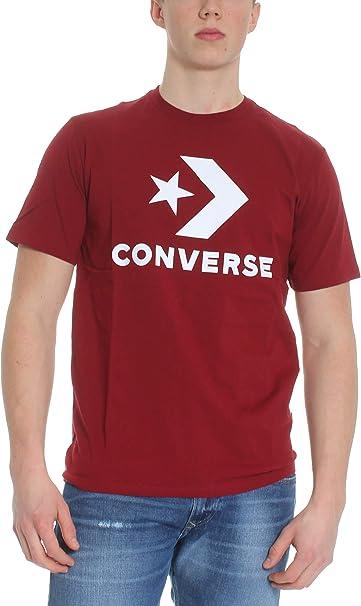converse rosso scuro