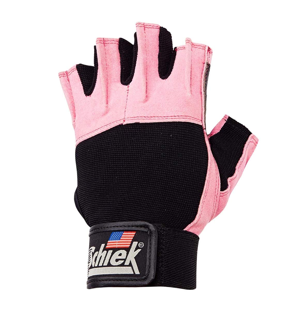 Schiek Sports Pink Lifting Gloves