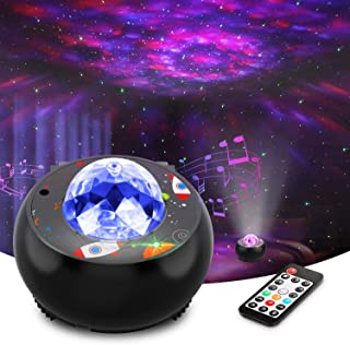Riarmo Galaxy Star Projector, [2020 Upgraded] Night Light...