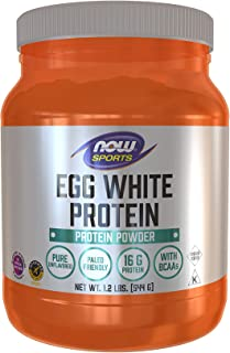 Now Foods Sports, Eggwhite Protein, 544g