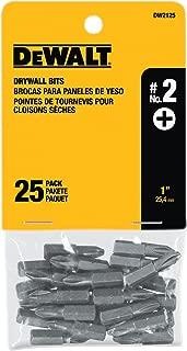DEWALT DW2125 #2 Phillips Drywall Bit Tip (25-Pack)
