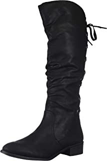 Women's Insola Lace-up Knee High Boot