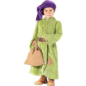 chiber Disfraces Disfraz de Enanito del Bosque para Niño (Talla 4 ...