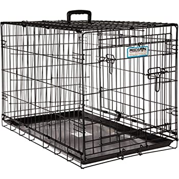 Petmate ProValu Double Door Wire Dog Crate
