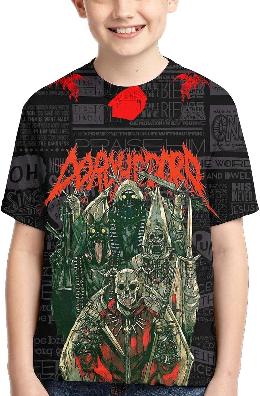 Dorohedoro Metal Graphic Short Sleeve Shirts Graphic Teens Shirt Top