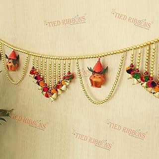 TIED RIBBONS Door Hanging Bandanwar Toran (96.5 cm X 12.5 cm) - Diwali Decoration Item for Home Door Wall Décor