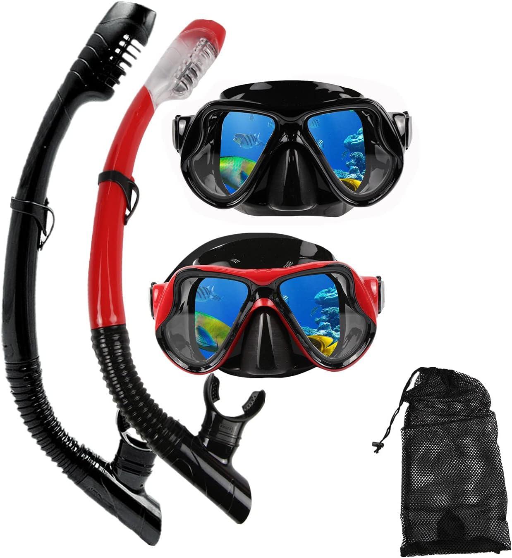 DIPUKI 1 year warranty Snorkeling Gear for Adults Regular discount Set Snorkel mask Diving Scuba