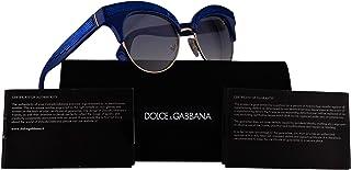 3eaae19c2edc Dolce & Gabbana DG6110 Sunglasses Blue w/Blue Gradient Lens 52mm 312219 DG  6110