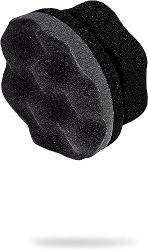 Adam's Pro Tire Hex Grip Applicator - Tire Shine Car Detailing Foam Sponge Tool | Car Cleaning Supplies After Car Was...