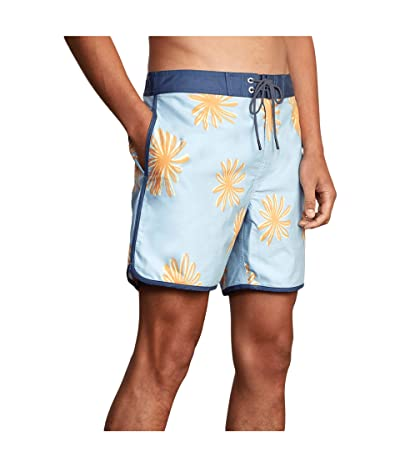 RVCA Freeport Trunk (Pale Blue) Men