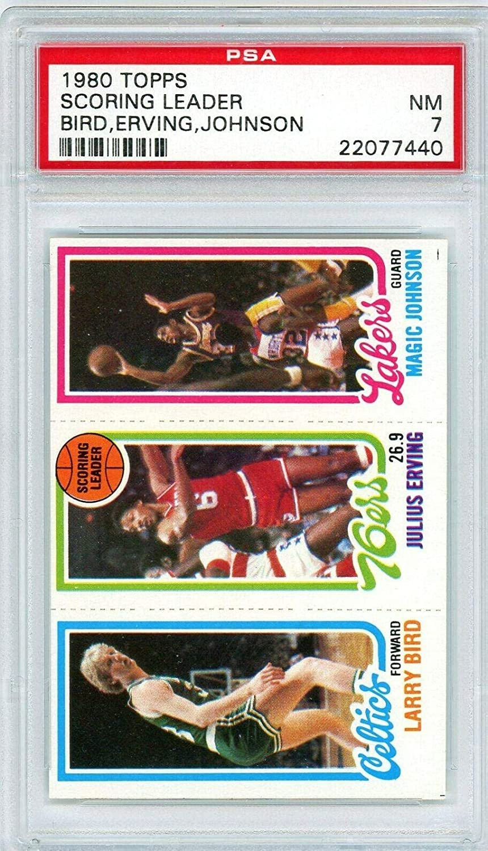 1980 Topps Larry Bird #34 Popular products Julius Magic Rooki #139 Erving Johnson Ranking TOP2