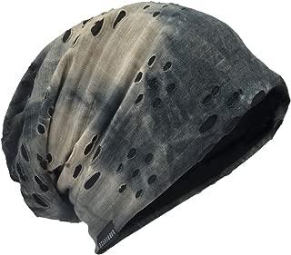 Mens Slouch Hollow Beanie Summer Skullcap B090
