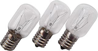 3 X Whirlpool 8206232A Light Bulb