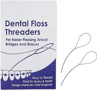 "Enhebradores de Hilo Dental ""Floss Threaders"" x 10 ~"