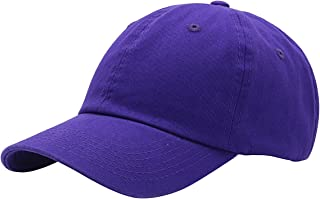 30df729b06a Top Level Baseball Cap for Men Women - Classic Cotton Dad Hat Plain Cap Low  Profile