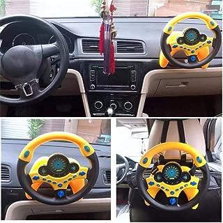 vmree New Kid Copilot Simulated Steering Wheel Racing Driver Toy Educational Sounding