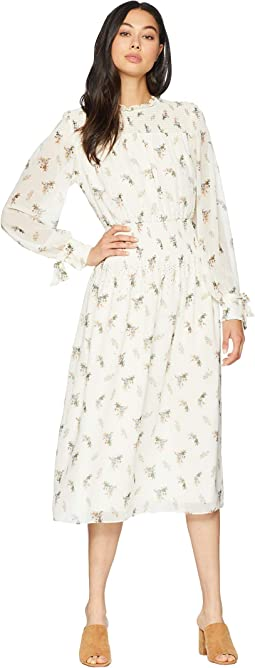 Juicy Couture. Pleated Maxi Dress with Lace Bodice.  49.99MSRP   328.00.  Angel Watercolor Floral fadda61cf