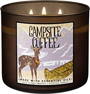 campsite coffee candle