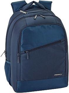 Safta Mochila Premium F.C. Barcelona Blue Premium Oficial Multi Bolsillos, 300x160x430mm