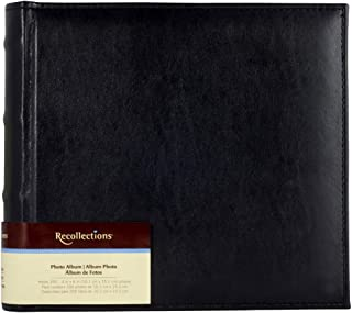 Black Bamboo Photo Album Holds 200-4