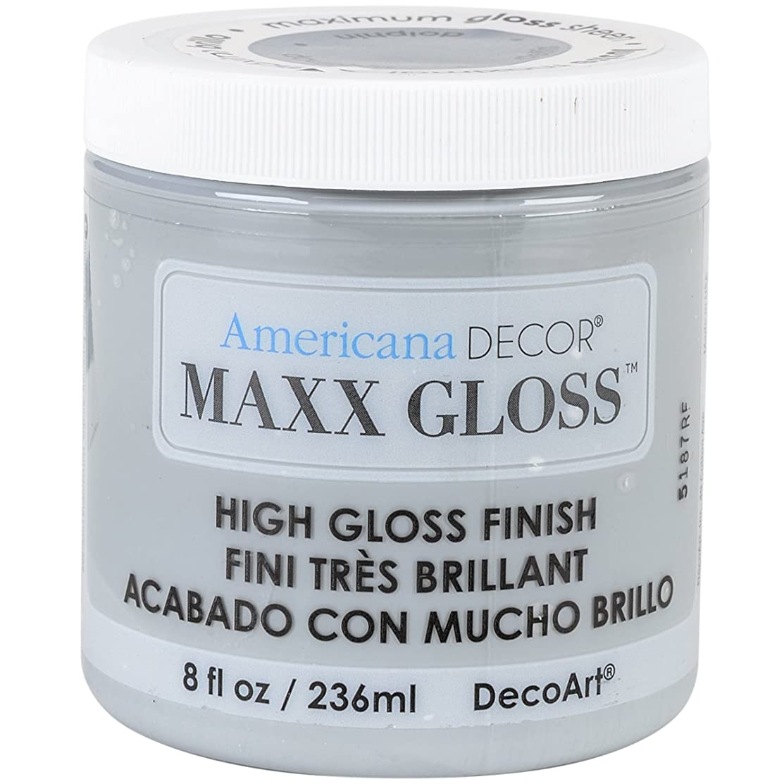 DecoArt Maxx Gloss Acrylic Paint, 8 oz, Dolphin