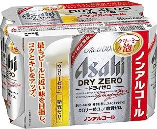 アサヒ ドライゼロ ノンアルコール 350ml×6缶パック