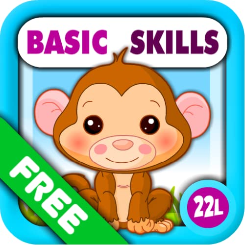 Preschool All-In-One Basic Skills: Adventure with Toy Train Vol 1: Learning Fun Educational Kids Games (letters, numbers, colors, shapes, patterns, 123s counting and ABCs reading) for Toddlers & Kindergarten Explorers! by Abby Monkey Lite