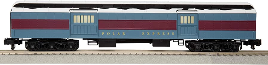 Lionel The Polar Express, Electric S-Gauge American Flyer Model Train Cars, Baggage Car