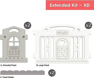 Dwinguler Castle Playpen XD (Extended Double) Grey