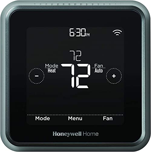 lowest Honeywell sale Home RCHT8612WF T5 Plus Wi-Fi Touchscreen Smart Thermostat outlet online sale with 7 Day flexible programming and Geofencing Technology Black outlet online sale