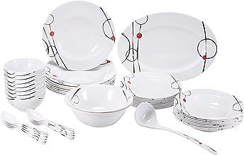 Melamine Ware 45 Pieces Dinner Set [Rf6718]