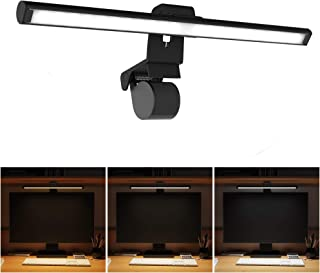 LED クランプライト モニター掛け式ライト クリップ式 ライト クリップライト デスクライト 目に優しい 3階段調色 10階段調光 角度調節可能 USB式 PC作業/仕事/寝室/卓上/読書/譜面台/ピアノ/オーケストラピットに対応