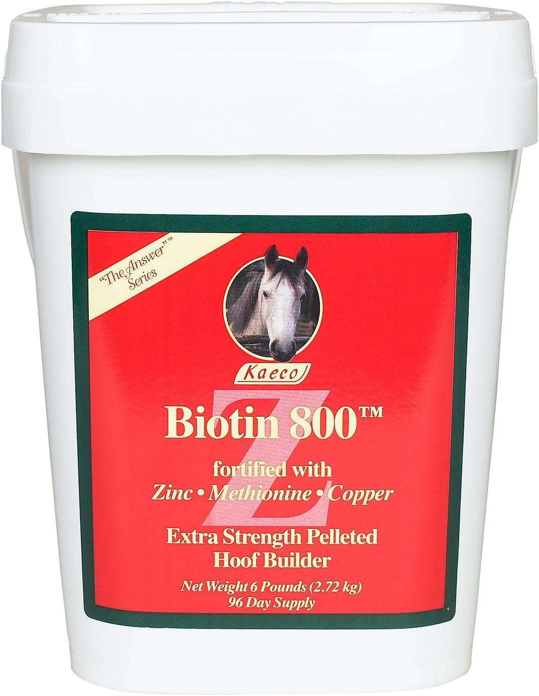 List price Max 45% OFF Biotin 800 Z 6lbs -