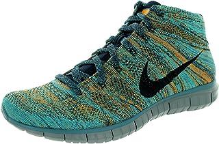 Nike Men's Free Flyknit Chukka Mnrl Tl/Drk Obsdn/Hypr Jd/Cppr Running Shoe