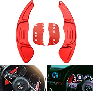 Red LIUYE Aluminum Alloy Steering Wheel Shift Paddle Shifter Extension Fit for Toyota Camry 2018-2019