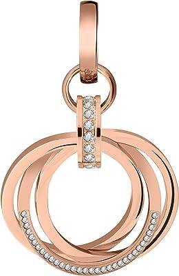 Tamaris Patty TJ064 - Orecchini a cerchio da donna con zirconi, colore: oro rosa