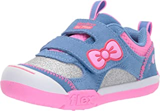 Skechers Kids' Flex Play-Glitter Sunrise Sneaker