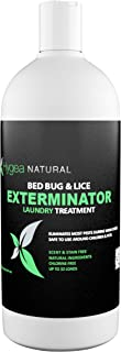Hygea Natural Bed Bug & Lice Killer Laundry Detergent - For Household Protection - Fast Acting - Children & Pet Safe - Non Toxic - Odorless, Natural, and Non Staining - 32 oz