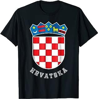 Croatian Flag Soccer Jersey Hrvatska Shirt Croatia Football