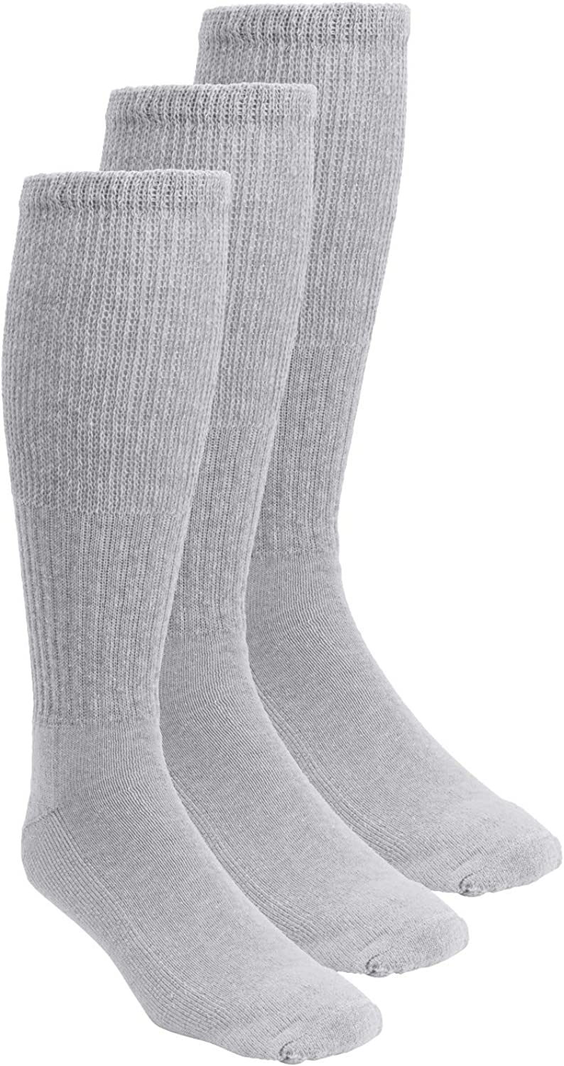 KingSize Men's Big Inventory cleanup selling sale Tall Diabetic Wide Sock Extra Ranking TOP18 Over-the-Calf