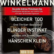 Bleicher Tod, Blinder Instinkt, Hänschen Klein: Die große Andreas-Winkelmann-Box, 6 MP3-CDs