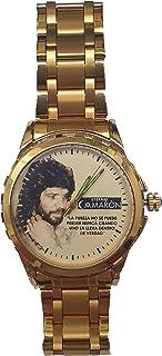 """Reloj Camaron de la Isla Reloj Personalizado Elegante y Exclusivo. Incluye Caja de Regalo. """"La pureza no se Puede Perder N..."""