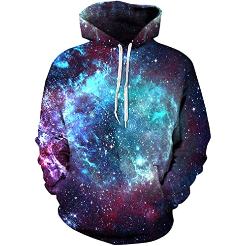 a7383cf9302c Unisex 3D Novelty Hoodies Galaxy Hoodies Sweatshirt Pockets