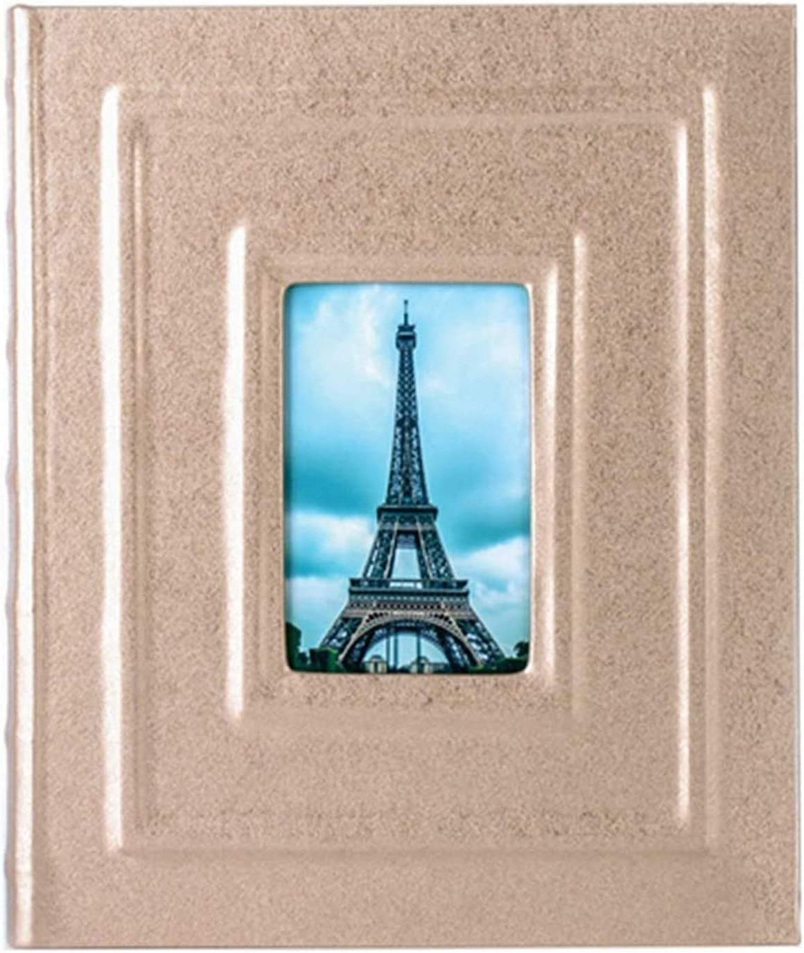 Special price for a limited time DSWHM Large Capacity Award Family Picture Pu Albums Photo Leather Albu