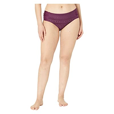 BECCA by Rebecca Virtue Plus Size Color Play Hipster Bottoms (Merlot) Women